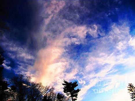 Sky Study 5 3/11/16 by Melissa Stoudt