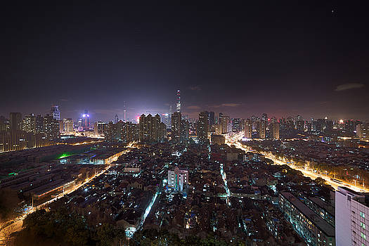 Skyline Mixture by Bun Lee