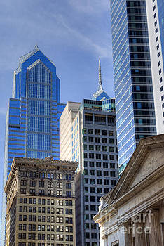 David Zanzinger - Skyscraper City Center  Liberty Place