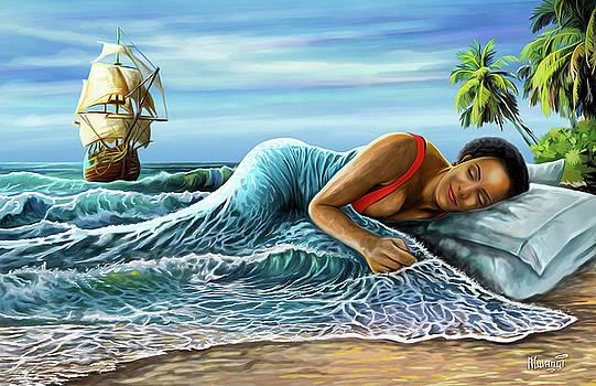 Sleeping Beauty by Anthony Mwangi