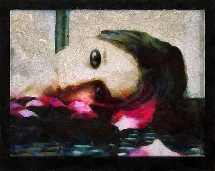 Sleeping on petals makes my dream flourish by Gun Legler