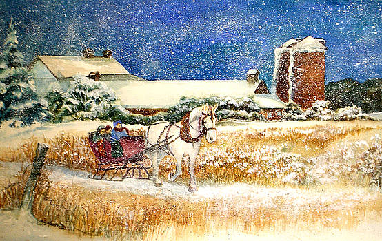 Sleigh Ride at Brickers by Lois Mountz