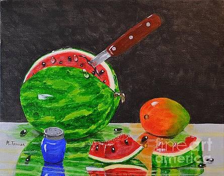 Sliced Melon by Melvin Turner