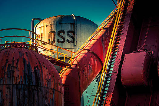 Sloss Furnaces by Phillip Burrow