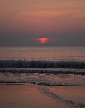 Slow and sultry sunrise  by Julianne Felton