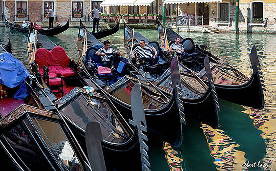 Slow Day, Venice by Robert Lacy