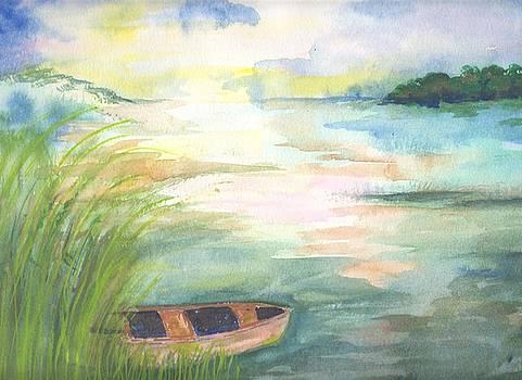 Slowly, the dawn appears by Sandi Stonebraker