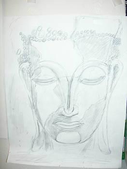 Slumbering Buddha by Sharyn Winters
