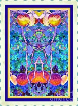 Smal Orange Tree by Shirley Moravec