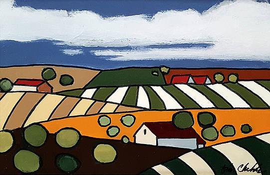Small Landscape 1 by John Chehak