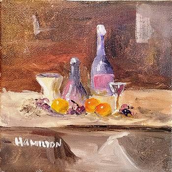 Small Still Life by Larry Hamilton