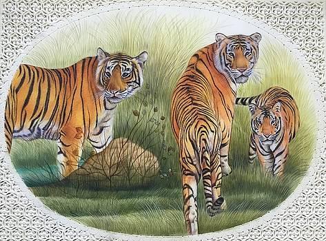 Smiling Tigres  by Ankit Mehta