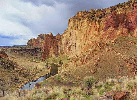 Smith Rock A Hikers Delight W7426 by Wes and Dotty Weber