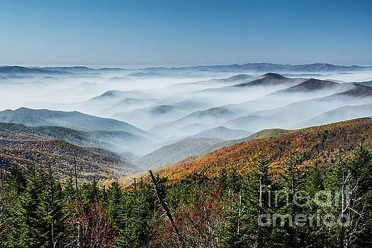 Smoke on the Mountains by Debbie Green