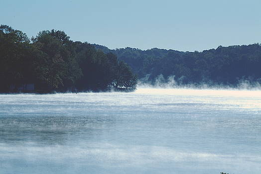 Smoke on the water by Rich Caperton