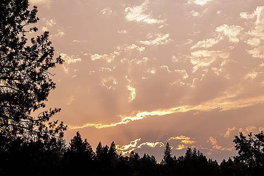 Smokey Skies Sunset by Melanie Lankford Photography