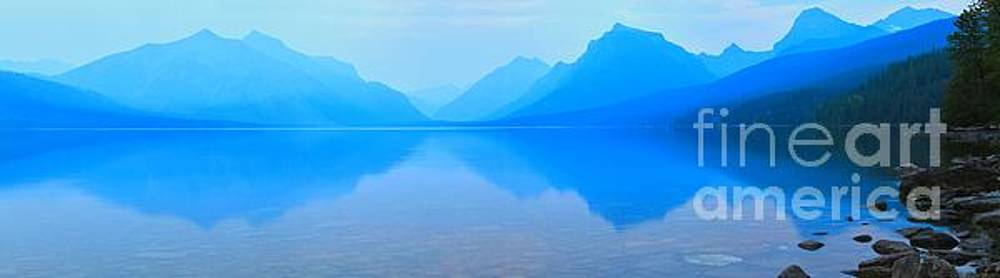 Adam Jewell - Smokey Sunset At Lake McDonald