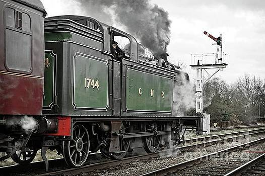Smoky Departure from Quorn by David Birchall