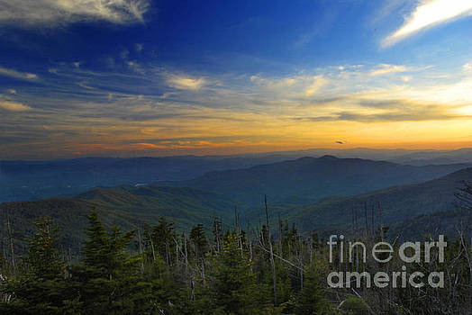 Smoky Mountain Sunset by Jason Kolenda