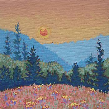 Smoky Sunset by Dorothy Jenson