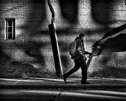 Sneakin' Thru The Alley by Brian Carson