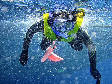 Snorkeling at the Great Barrier Reef by Ashish Agarwal