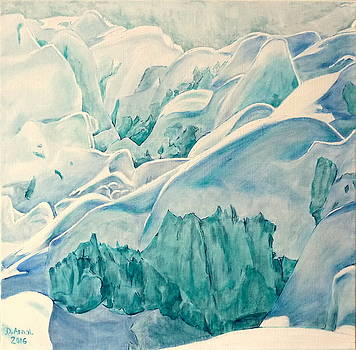Snow And Ice by Danielle Arnal