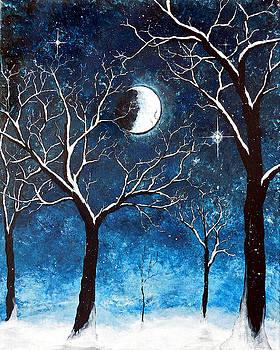 Snow by Moonlight by Sabrina Zbasnik
