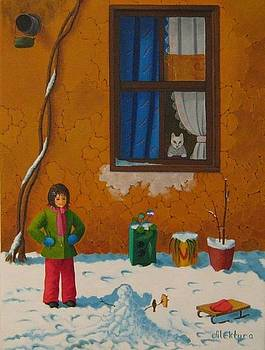 Snow by Dilek Tura