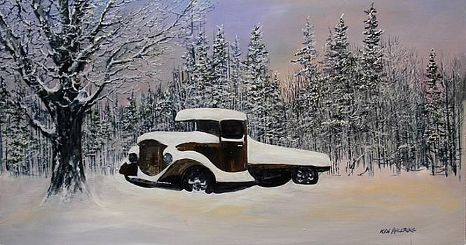 Snow Mobile by Ken Ahlering