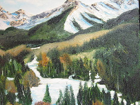 Snow Mountain by Brian Hustead