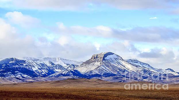 Snow on Ear Mountain by John Lee