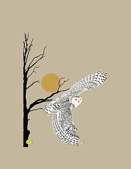 Snow owl by Robert Breton