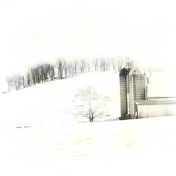 Snow Scene by Kathy Jennings