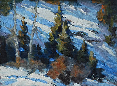 Snow Shadows by Gary Gore