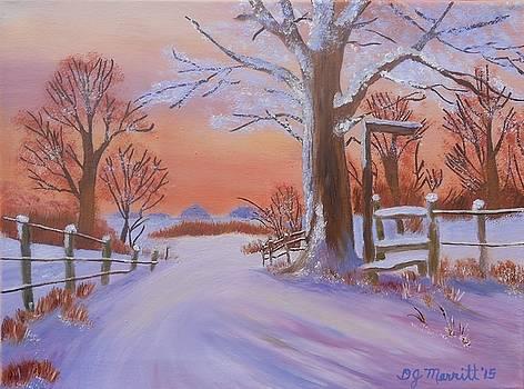 Snow Valley by Dorothy Merritt