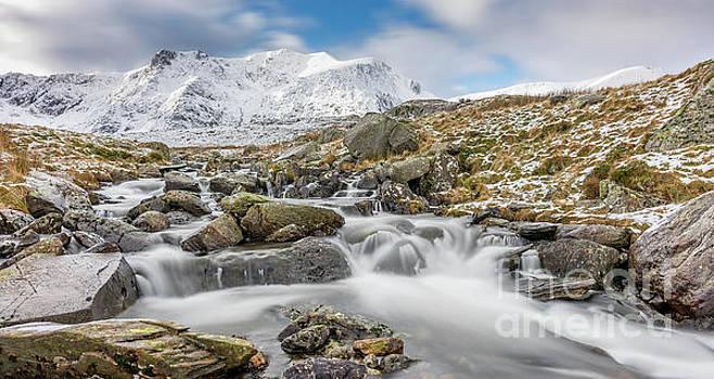Adrian Evans - Snowdonia Mountain River