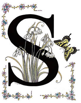 Stanza Widen - Snowdrops Snowflakes and a Swallowtail