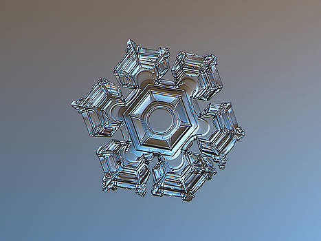 Snowflake photo - Cold metal by Alexey Kljatov