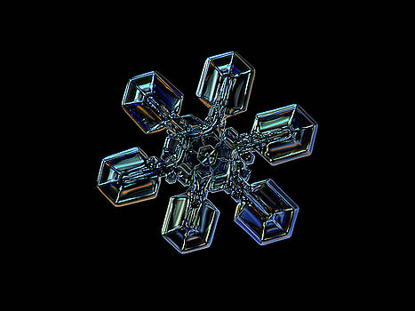 Snowflake photo - High voltage III by Alexey Kljatov