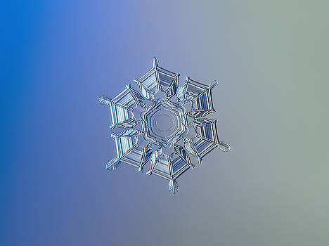 Snowflake photo - Ice relief by Alexey Kljatov