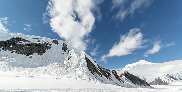 Kahiltna Glacier by Henry Gray