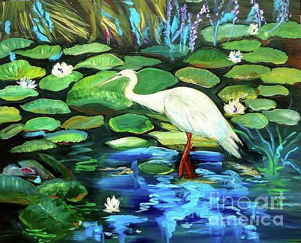 Snowy Egret by Jenny Lee