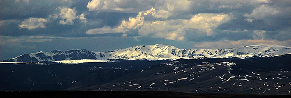 Snowy range In May by Wesley Hahn