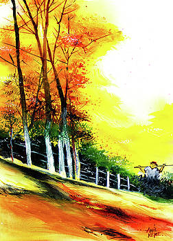 Soaring High by Anil Nene
