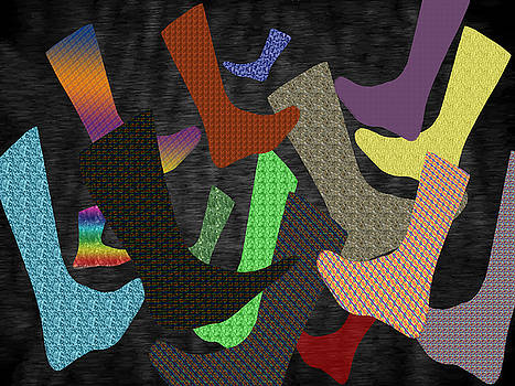 Barry Jones - Socks Abstract