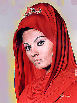 Sofia Loren by John Keaton