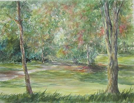 SOLD river nature trails by Gloria Turner