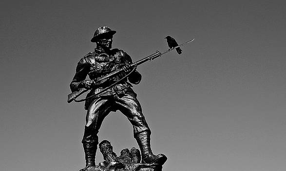 Soldier and Crow by Brian Sereda