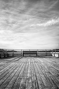 Solitude at Bangor Pier by Christine Smart